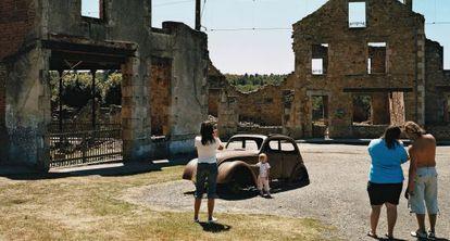 Oradour-sur-Glane (Francia). Su población fue exterminada por Alemania en 1944.