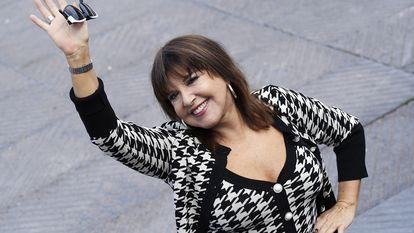 La actriz Loles León, en el Festival de Cine de San Sebastián, en 2019.