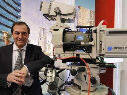 Eladio Jareño en 2015, cuando era director general de RTVE en Cataluña.