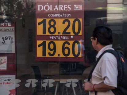 Tarifas de un banco mexicano el 21 de diciembre de 2017