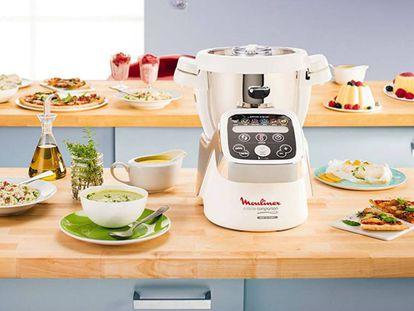El robot de cocina ganador de nuestra comparativa es el Moulinex Cuisine Companion.