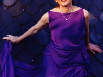 La soprano María Bayo.