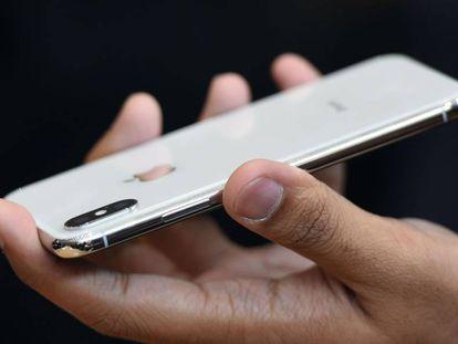 Imagen del iPhone X.