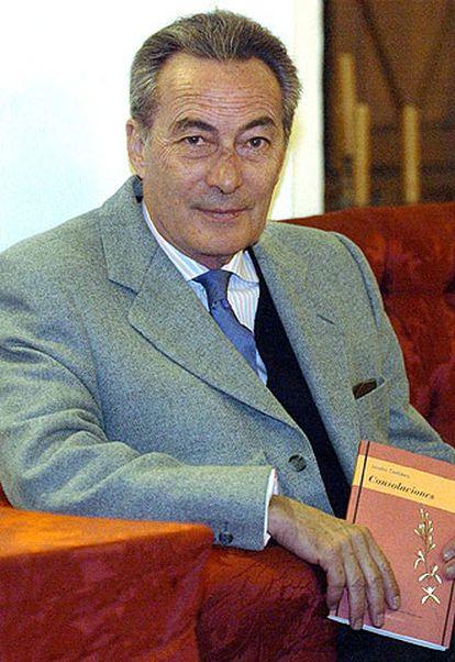 El poeta Jacobo Cortines.