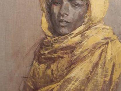 Retratos de etnias del Niger de la exposición