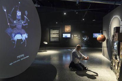 Presentación de la exposición 'Marte: la conquista de un sueño''.