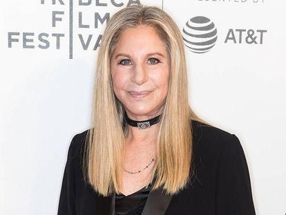 Barbra Streisand el pasado sábado en el Festival de Tribeca.