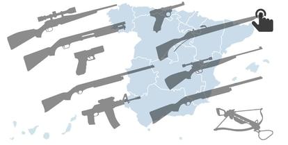 GRÁFICO: Las cifras de la armería española en 2016