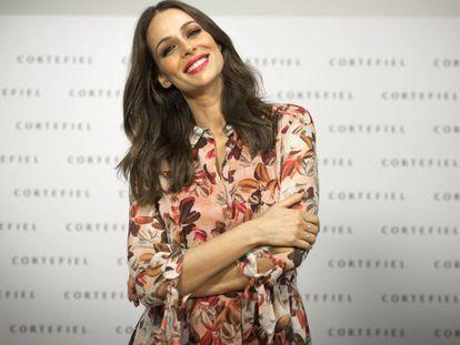 La presentadora Eva González este jueves en Madrid.