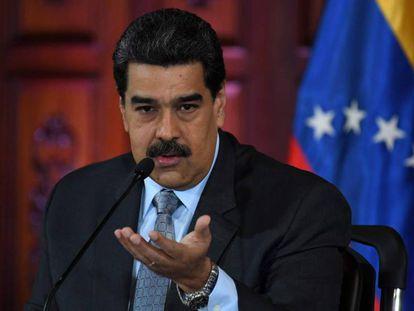 El presidente venezolano, Nicolás Maduro, en una imagen de archivo.