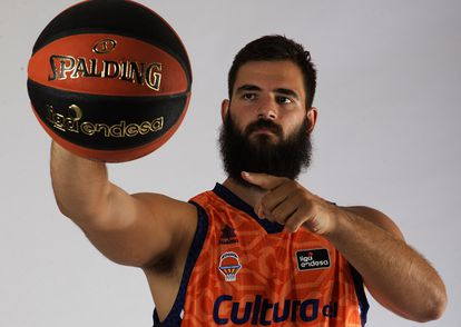 Bojan Dubljevic, capitán del Valencia Basket. acbphoto