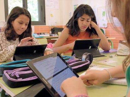 Según un estudio elaborado por Samsung junto a IPSOS, nueve de cada diez alumnos creen que tendrán trabajos muy distintos a los de sus padres.