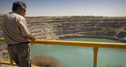 Corta de Los Frailes en la mina de Aznalcóllar.