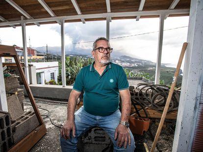 José Carlos González, uno de los vecinos de La Palma que perdió su casa por la lava y está a la espera de que le asignen una vivienda.