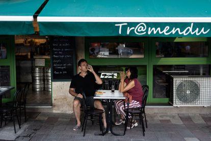 Bar Tramendu en la plaza Suria