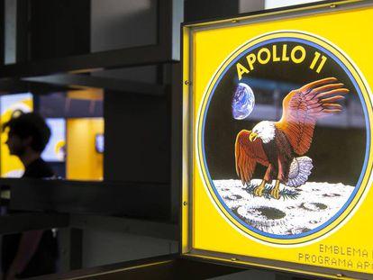 Espacio dedicado a los 50 años de la llegada a la Luna.