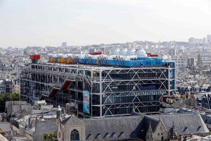 El Centro Georges Pompidou, en una imagen de 2017