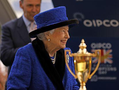 La reina Isabel II, el pasado sábado en el hipódromo de Ascot.