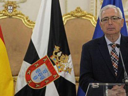 El actual presidente de la ciudad de Melilla, Juan José Imbroda.