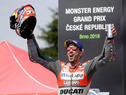 GP de la República Checa de MotoGP en el circuito de Brno