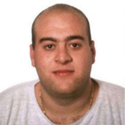 Asier Eceiza, en una imagen del archivo de la Guardia Civil.
