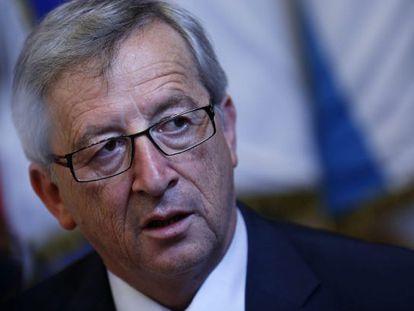 El primer ministro luxemburgués y presidente del Eurogrupo, Jean Claude Juncker.