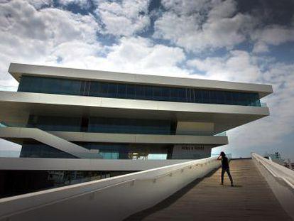 El edificio Veles i Vents, de David Chipperfield y Fermín Vázquez.