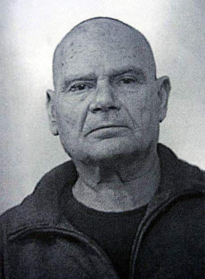 Giussepe Narti, en una imagen de la Policía italiana.