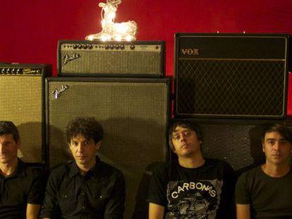 La banda de rock Mox Nox.