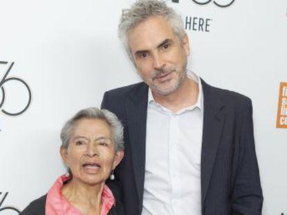 Liboria Rodríguez comenzó a cuidar al oscarizado director cuando tenía nueve meses. Medio siglo después, este le dedica su obra maestra  Roma