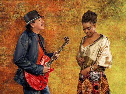 Carlos Santana y Concha Buika colaboran en el nuevo álbum del guitarrista, Africa Speaks