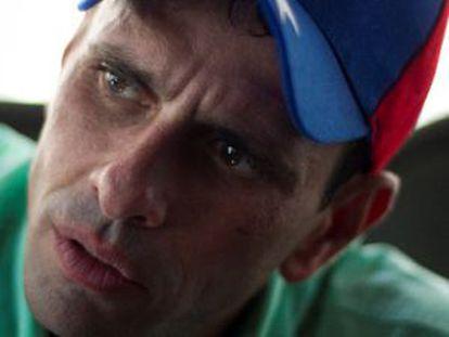 Capriles, en una foto de archivo.