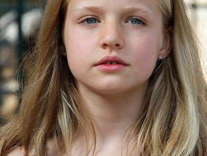 La princesa de Asturias.