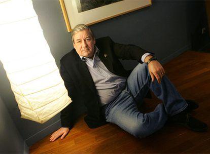 Patrick McGrath (Londres, 1950), autor de <CF1135>Trauma</CF>, retratado en 2005.