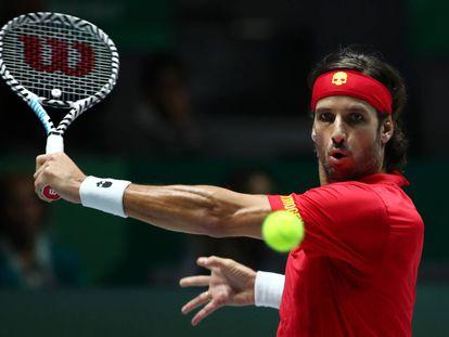 España - Gran Bretaña, los partidos de la semifinal de la Copa Davis, en imágenes