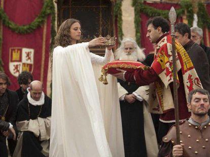 Un fotograma de la serie española 'Isabel'.