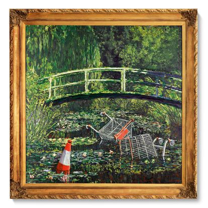 'Show Me the Monet' de Banksy