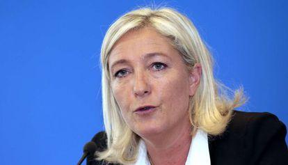 La líder del Frente Nacional francés, Marine Le Pen.