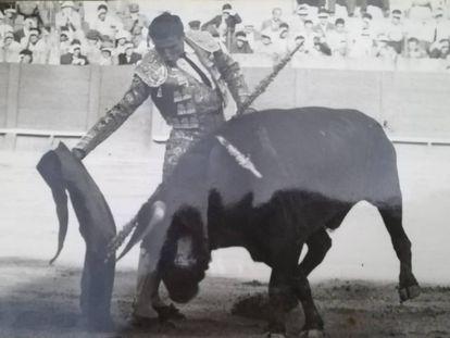 Alfonso Ordóñez, el día de su presentación en La Maestranza, el 31 de mayo de 1959.