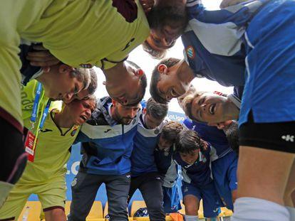 Canteranos del RCD Espanyol en el Torneo Internacional LaLiga Promises Santander.