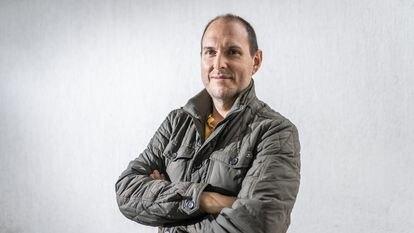 El actor colombiano Andrés Parra, este mes de octubre en Bogotá.