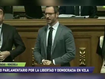 "Diputados chavistas increpan a Maroto al grito de ""Viva Cataluña libre"" en la Asamblea venezolana"