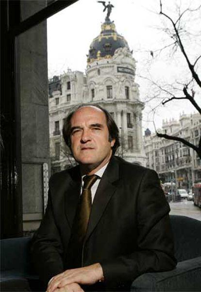 El rector Ángel Gabilondo.
