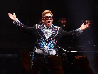 Elton John, en un concierto en Tampa, Florida, el 4 de noviembre.