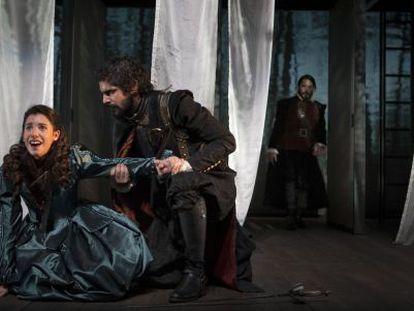 Escena de 'La cortesía de España' dirigida por Josep María Mestres.