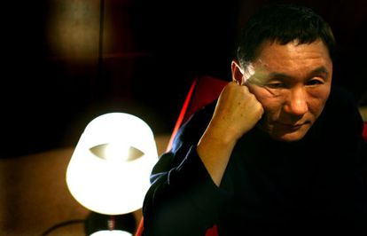 Takeshi Kitano en el Festival Internacional de Cine de Rotterdam.