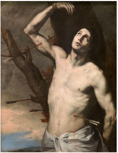 'San Sebastián' (1636), de José de Ribera, que forma parte de la colección del Museo del Prado.