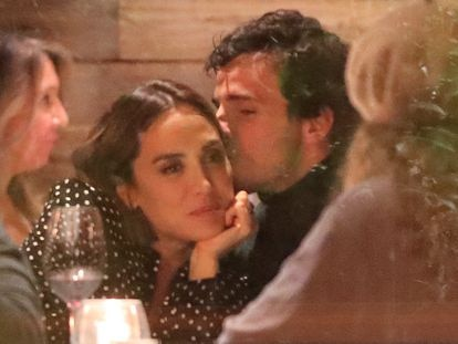 Tamara Falcó e Iñigo Onieva en un restaurante de Madrid, el 24 de noviembre de 2020.