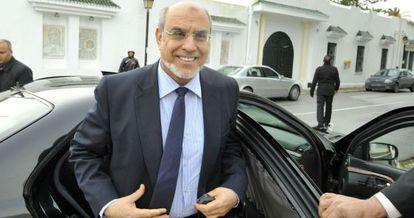 El primer ministro tunecino, Hamali Jebali, en Túnez el pasado 9 de febrero.