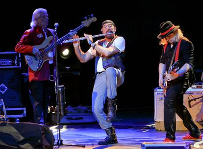 El grupo Jethro Tull en el Circo Price, durante el ciclo de los Veranos de la Villa en 2012.
